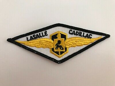 Vintage Embroidered Lasalle Cadillac Jacket Patch 4.5  X 1.5  • 17.09$