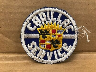 Vintage Original 1950/60's Embroidered Cadillac Service Jacket Patch 3  X 3  • 17.09$