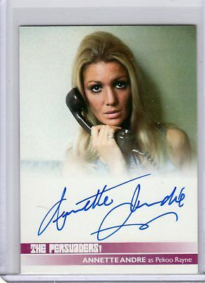 $ CDN52.88 • Buy The Persuaders Autograph Card AA3 Annette Andre Unstoppable Cards UK SFC