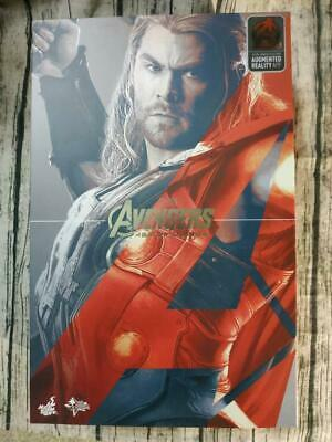AU560.99 • Buy  Used Toy  Hot Toys 1/6 Marvel Avengers Age Of Ultron MMS306 Thor Action Figure