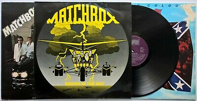 Matchbox Riders In The Sky Flying Colours & Midnite Dynamos 3 LPs Rockabilly • 9.99£