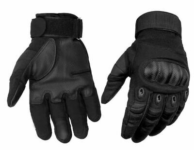 $27.49 • Buy Mens Tactical Gloves Hard Knuckle Adjustable Military Army Brass Knuckles LARGE