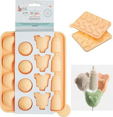 £5.39 • Buy Baby Shower Silicone Pop Cake Mould Chocolate Sweet Jelly Soap Ice Cube
