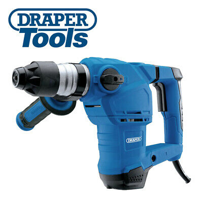 View Details Draper 83589 Storm Force SDS+ Rotary Hammer Drill Kit With Rotation Stop (1250W) • 59.95£