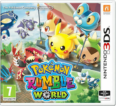 AU50 • Buy POKEMON RUMBLE WORLD For Nintendo 3DS - Cartridge Only - VGC - FREE POST!!