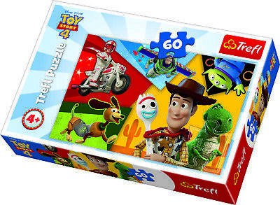 £7.49 • Buy Trefl 60 Piece Kids Large Toy Story 4 Playing Big Pieces Floor Jigsaw Puzzle NEW