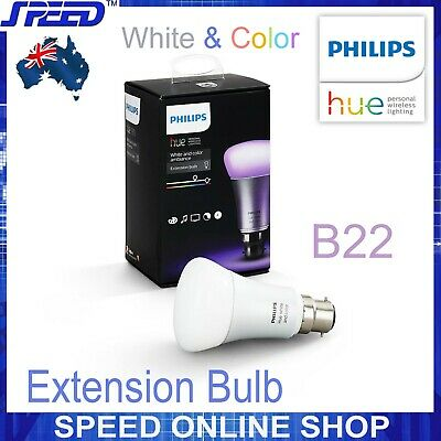 AU87.50 • Buy Philips Hue - White And Color Ambiance - Extension Bulb - Single - (B22)