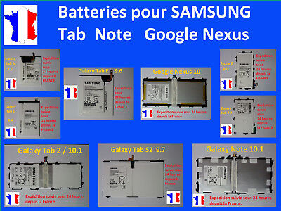 £32.85 • Buy New Internal Battery For Tablet Samsung Tab 1 2 3 4 7 10 Note A S E S2