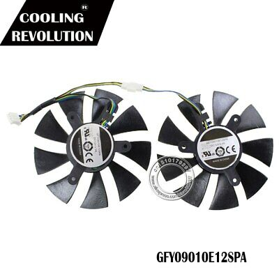 $ CDN27.31 • Buy 2pcs/Lot GA91S2H GFY09010E12SPA 4Pin 86mm VGA Fan For Zotac GTX1070 MINI Cooler