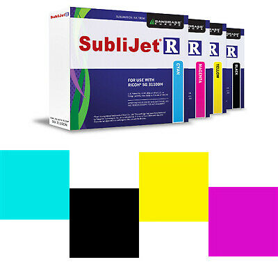 Sublimation Cartridges For Ricoh Printers - Produce High Resolution Images • 98.59£