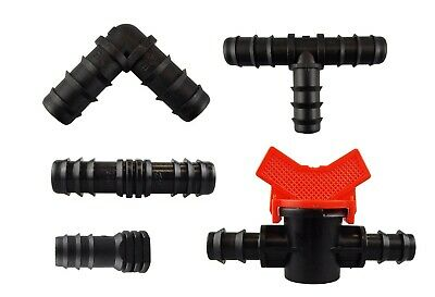 Porous Pipe/leaky Hose/soaker Hose/drip Line Connectors / Fittings/stakes/valves • 6.11£