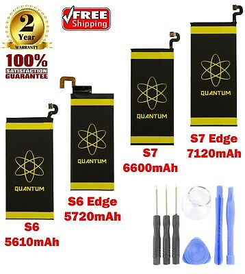 $ CDN17.57 • Buy New Quantum Extended Slim Battery For Galaxy S6,S6 Edge, S7, S7 Edge  With Tools