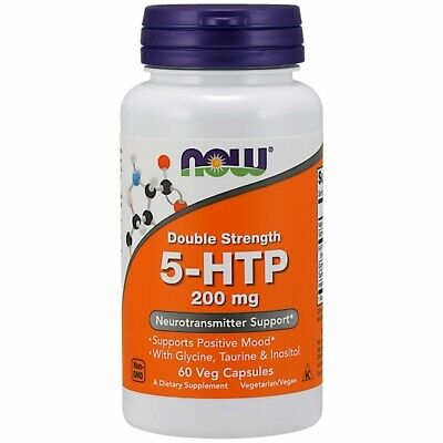 $ CDN23.71 • Buy 5-HTP 60 Vcaps 200 Mg By Now Foods