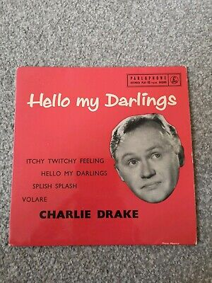 £4 • Buy Charlie Drake- Hello My Darlings- EP SLEEVE ONLY (NO RECORD)