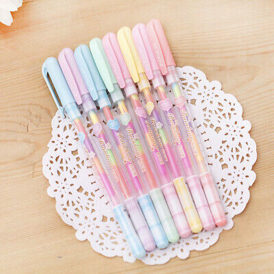 £3.29 • Buy 6 Colors In 1 Rainbow Colors Gel Pens Office Student Gift Kids Party Bag Filler