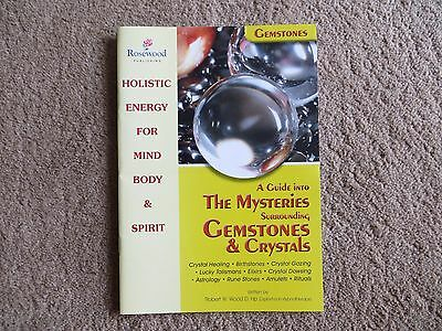 £1 • Buy A Guide Into The Mysteries Surrounding Gemstones And Crystals By Robert W.Wood