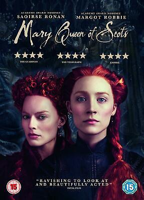 Mary Queen Of Scots DVD  With  Saoirse Ronan New (DVD  2019) • 6.66£