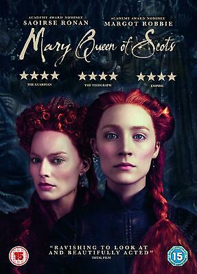 Mary Queen Of Scots DVD  With  Saoirse Ronan New (DVD  2019) • 6.69£