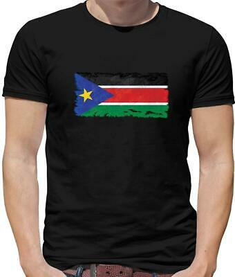 £12.95 • Buy South Sudan Flag Mens T-Shirt - Juba - Africa - Country - Travel - Flags - Gift