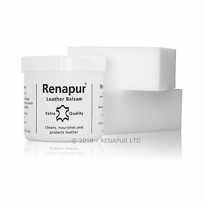Renapur Leather Balsam 200ml Treatment Protection Waterproof Restore Soft Colour • 15.10£