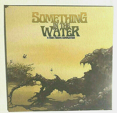$120 • Buy Something In The Water Comp Lp 2013 Metal Doom Stoner Uncle Acid Rise Above
