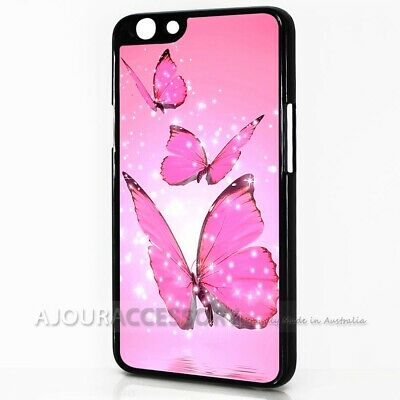 AU9.99 • Buy ( For Oppo A57 ) Back Case Cover AJ10485 Pink Butterfly