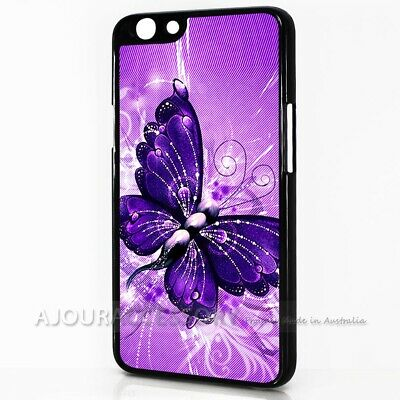 AU9.99 • Buy ( For Oppo A57 ) Back Case Cover AJ10492 Pink Butterfly