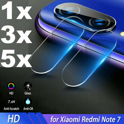 $1.58 • Buy For Xiaomi Redmi Note 7 8 Pro Back Lens Tempered Glass Camera Protector Film