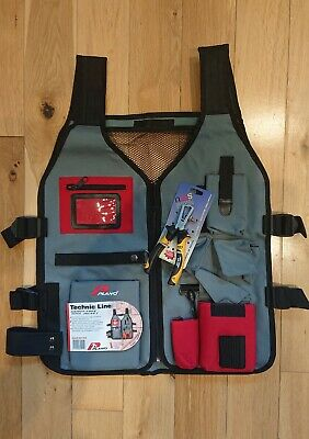 Tool Vest / Jacket / Multipocket PLANO TECHNIC LINE 541TX  (Free Wirestrippers!) • 17.49£