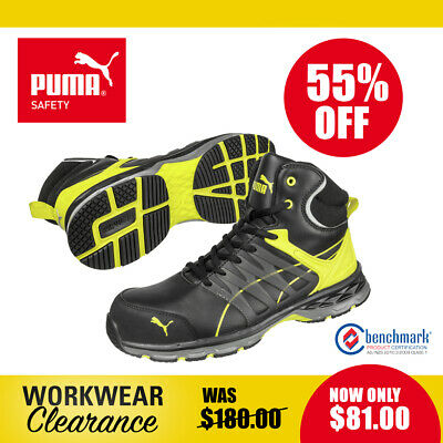 AU81 • Buy Puma Safety ESD Work Boots With Toe Cap 633887 Track NEW