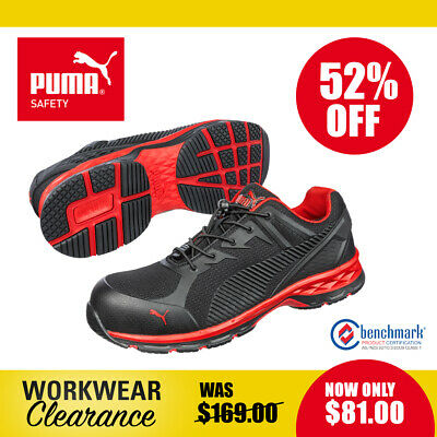 AU99 • Buy Puma Safety ESD Work Boots With Toe Cap 643897 Relay Red NEW