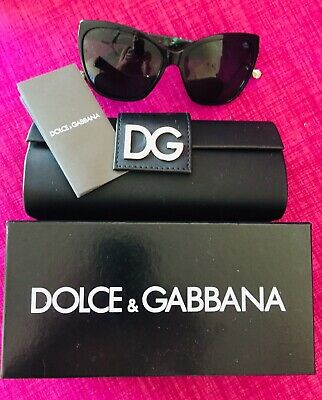 AU70 • Buy Dolce And Gabbana Cats Eye Green Armed Sunglasses