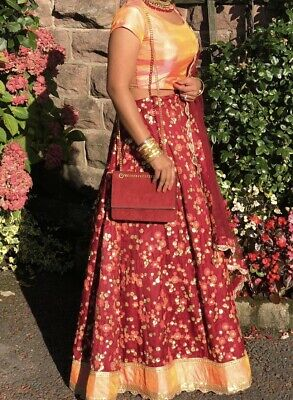 £85 • Buy Lengha For Indian Wedding Guest - Worn Once