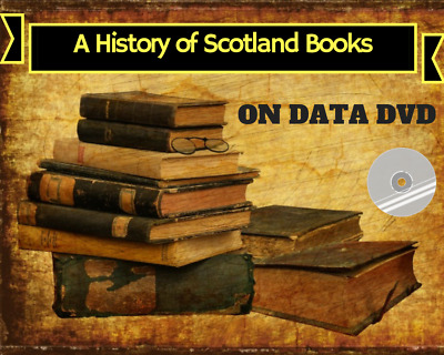History Of Scotland Vintage Collection - 108 Rare Books On DVD - Genealogy Clans • 3.89£