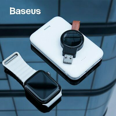 $ CDN19.87 • Buy Baseus Portable Wireless Magnetic Fast USB Charger For Apple Watch 4/3/2/1
