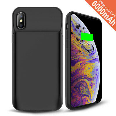 AU48.44 • Buy Added 150% Extra Slim Power Bank IPhone XS Max XR X 8 7 6 5 5S SE Battery Case