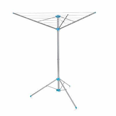 Freestanding Clothes Airer Dryer Indoor Outdoor Folding Tripod Camping Portable • 30.32£