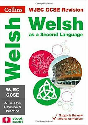 GCSE Welsh Second Language Grade 9-1 WJEC Practice And Revisi New Paperback Book • 11.80£