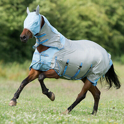 £33 • Buy Gallop All In One Fly Rug Including Mask For Horses