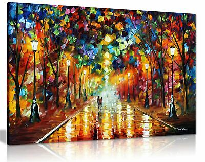 Leonid Afremov Abstract Oil Painting Canvas Wall Art Picture Print Living Room • 11.99£