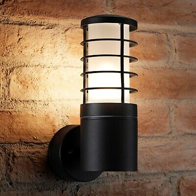 Auraglow 5w Modern Outdoor Wall Lantern Garden Light - LED Light Bulb Included • 19.99£