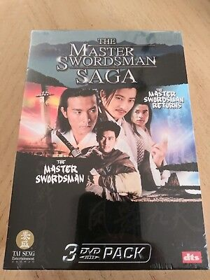 Brand-New Master Swordsman Saga ( 3 DVD, 2006) Daniel Lee Rare Freeshipping • 25.04£