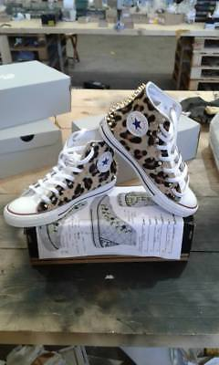 Converse All Star With Pony Spotted More' Studs Gold + Swarovski • 139.07£