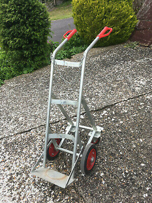 £200 • Buy Industrial Gas Cylinder Trolley With Rear Support Wheels