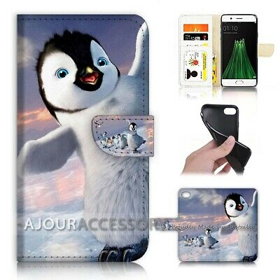 AU12.99 • Buy ( For Oppo A57 ) Wallet Flip Case Cover AJ40697 Penguin
