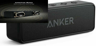 AU77.89 • Buy Anker Soundcore 2 Portable Bluetooth Speaker With 12W Stereo Sound, Black