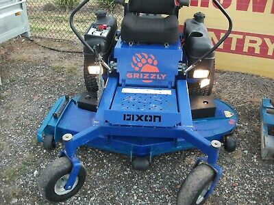 AU5500 • Buy Dixon Grizzly 60  Zero-turn Mower