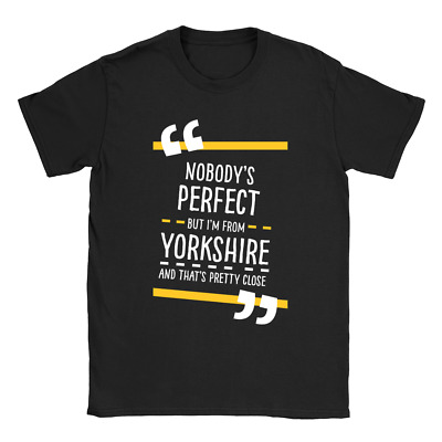 From Yorkshire Mens T-Shirt Present Gift For Yorkshireman For Him • 7.99£