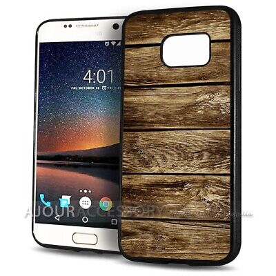 AU9.99 • Buy ( For Samsung S8 ) Back Case Cover AJ11203 Wood Timber Pattern