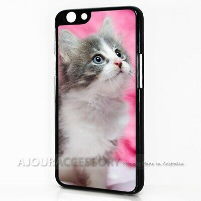 AU9.99 • Buy ( For Oppo A57 ) Back Case Cover AJ11301 Cute Pussy Cat